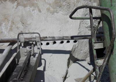 Perforazione bancata orizzontale