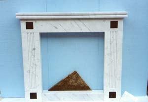 Caminetto marmo Carrara