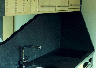 Copertura cucina Zalende Nuvolato levigato + BIO