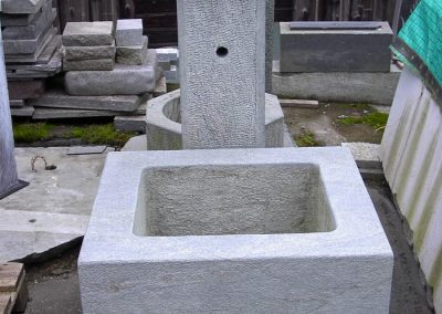 Fontana Zalende Nuvolato con pilastro
