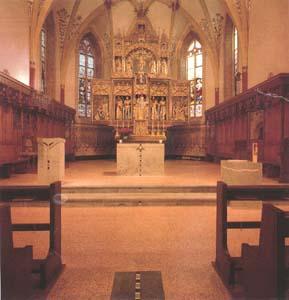 Altare Chiesa S.Vittore Poschiavo in Zalende Nuvolato